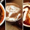 Folyékony művészet - kávéba rajzol portrékat egy művész