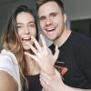Futballista párja megkérte Rubint Rella kezét