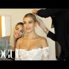 Hailey Bieber megmutatta, hogyan zajlott esküvői ruhapróbája