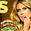 Hamburgert reklámoz Heidi Klum