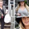 Hilary Duff nem törődik az alakjával