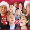 Híres barátaival karácsonyozott James Corden – videó