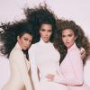 Igazán egyformán néznek ki új fotóikon a Kardashian nővérek