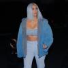 Igazi jégkirálynő lett! Kim Kardashian kék hajjal hódít