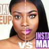 Így néz ki az Instagram smink a valósággal ellentétben