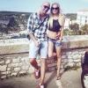 Így nyaralt Dobrády Ákos és Iszak Eszter