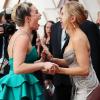 Így örült egymásnak Florence Pugh és Scarlett Johansson