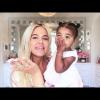 Ilyen volt Khloe Kardashian lányának cukorkarózsaszín szülinapja