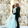 Ilyen volt Kim és Kanye esküvője — fotók
