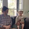 Imádnivaló videót posztolt kislányáról a Grace klinika sztárja