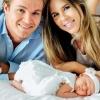 Íme az első képek Nico Rosberg kislányáról!
