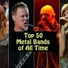 Íme minden idők 50 legjobb metalegyüttese