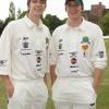 James és Oliver Phelps egy alapítványért krikettezik