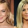 Jennifer Aniston felkarolja Lindsay Lohant