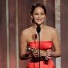 Jennifer Lawrence tiszta vizet önt a pohárba a Globe-beszéde után