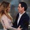 Jennifer Lopez és Marc Anthony egy színpadon