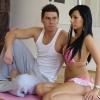 Jerzy és Veronika egy rúdon pörögnek