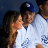 Joe és Ashley egy baseballmeccsen