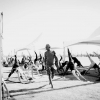 Jóga apavilon sátor alatt