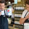 Josh Duhamel megtréfálta a vásárlókat — videó
