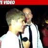 Justin Bieber betört egy esküvőre