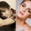 Justin Bieber Emma Watsonra hajt