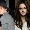 Justin Bieber Kristen Stewartra hajt