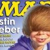 Justin Bieberről mókás karikatúra készült