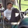 Justin Timberlake zöldfüggő