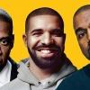 Jay-Z-vel és Kanye Westtel dolgozott legújabb stúdióalbumán Drake