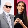 Karl Lagerfeld beszólt Kim Kardashiannak