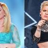 Kelly Clarkson kiáll Pink mellett