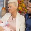 Kerry Katona megmutatta a kislányát