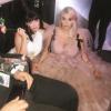 Kesha helyét elkeverték, így kénytelen volt a földön ülni a VMA-n