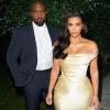 Kim Kardashian gyönyörű selyemruhában ünnepelte Puff Diddy szülinapját