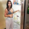 Kim Kardashian hűtőjét cikizték, rácáfolt a negatív megjegyzésekre