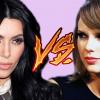 Kim Kardashian megbékélt Taylor Swifttel