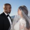 Kim Kardashian sosem látott képeket posztolt esküvőjéről