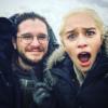 Kit Harington viccből öklendezett, miután megcsókolta Emilia Clarke-ot