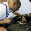 Kocsis Tibor felcsapott autószerelőnek