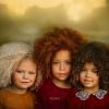 Különleges szépségű gyermekek, különleges hajjal – fotók!