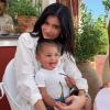 Kylie Jenner akart egy második gyermeket szerelmétől, szakítás lett a vége