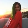 Kylie Jenner zöldre váltott