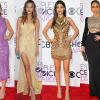 Lenyűgöző kreációkban léptek a vörös szőnyegre a sztárok a People's Choice Awardson