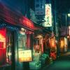 Lenyűgözően hangulatos a tokiói éjszakai élet – fotók
