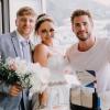 Liam Hemsworth véletlenül egy esküvőn találta magát - a menyasszony odáig volt örömében