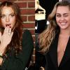 Lindsay Lohannek beszóltak, amiért Miley Cyrushoz hasonlította magát