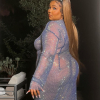 Lizzo átlátszó ruhában ünnepelt Cardi B szülinapi partiján
