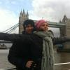 Londonban romantikázott a TV2 szerelmespárja