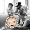 Megható családi képpel jelentette be gyermekének születését Hilary Duff